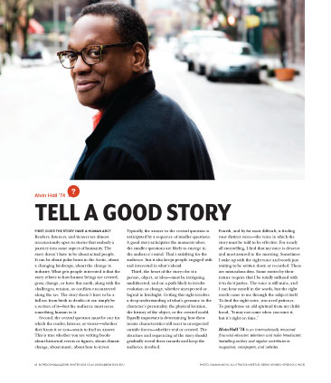 How To Tell a Good Story - Alvin Hall
